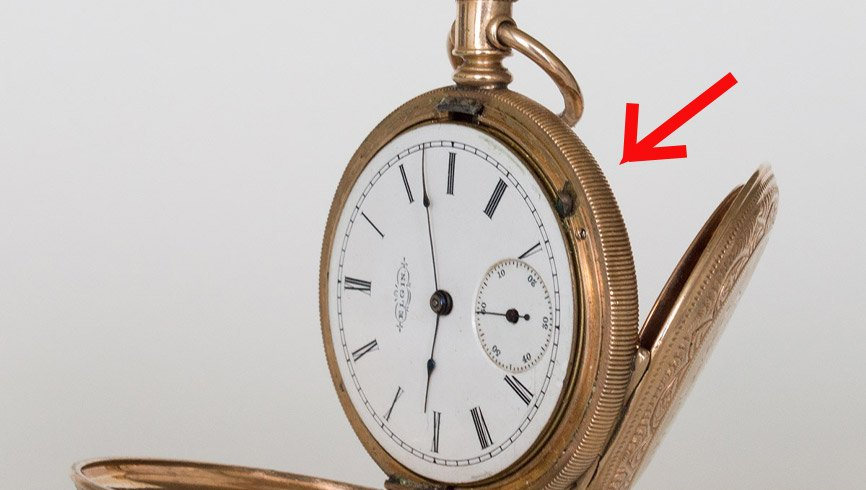 how to change the time on a lever set pocket watch