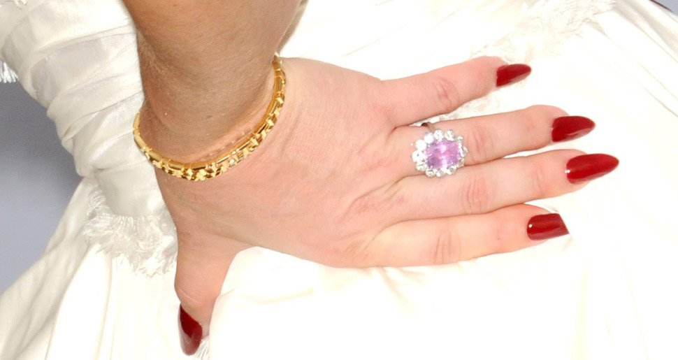 Lady Gaga's engagement ring with Christian Carino