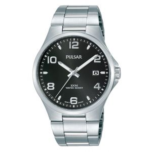 Pulsar PS9619X Silver Stainless Steel Mens Watch