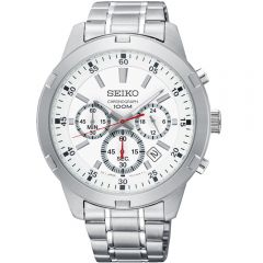 Seiko SKS601P Chronograph Stainless Steel Mens Watch