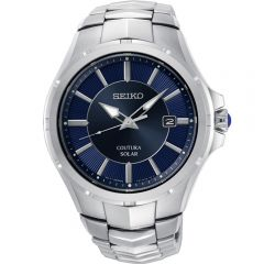 Seiko Coutura SNE511P Stainless Steel Mens Solar Watch