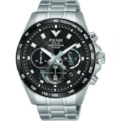 Pulsar Solar PZ5105X Chronograph WR100 Mens Watch