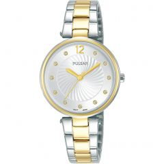 Pulsar PH8492X Silver and Gold Ladies Watch