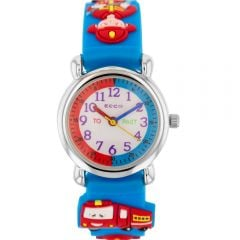 ECC Fire Truck Blue Kids Watch