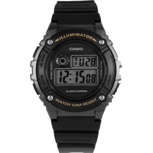 Casio W216H-1B Digital Mens Watch