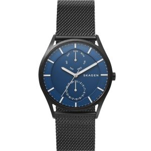 Skagen SKW6450 Holst Black Stainless Mens Watch