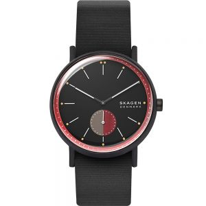 Skagen Signatur SKW6540 Black Rubber Mens Watch