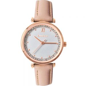 Ellis & Co Stella Nude Leather Womens Watch