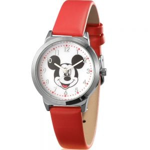 Disney SPW001 Mickie Mouse Red Band Watch