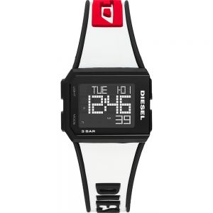 Diesel Chopped DZ1922 Digital White Watch