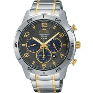 Pulsar PX5057X Solar Chronograph Watch