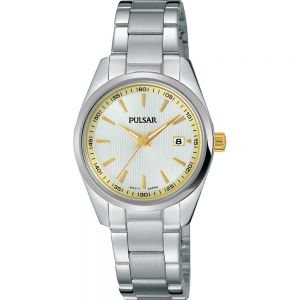 Pulsar PJ2021X Silver Tone Womens Watch