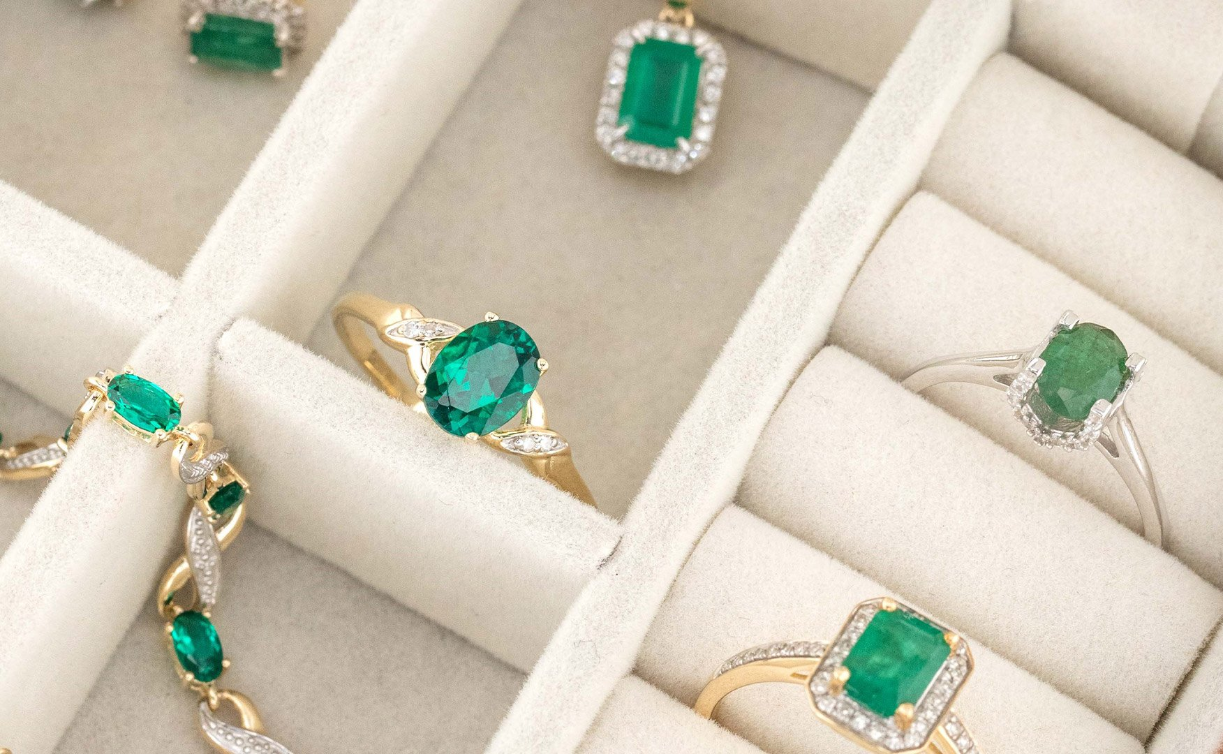 may birthstone in jewellery